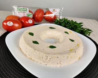 Mousse de Tomate TREBESCHI com manjericão