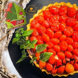 Quiche de Gorgonzola com Sweet Grape por Priscila Stucky